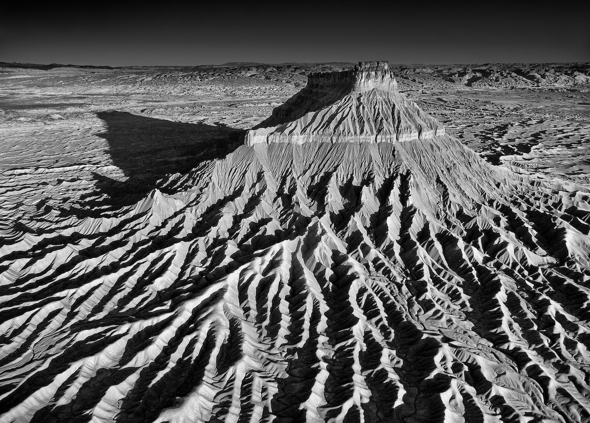 Paul Dressendorfer: Factory Butte Furrows
