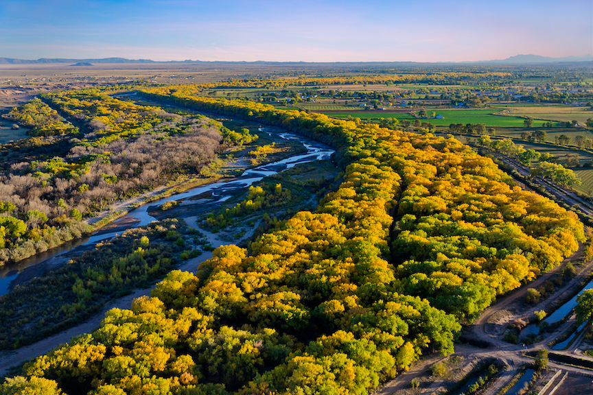 Paul Dressendorfer: Fall on the Rio Grande