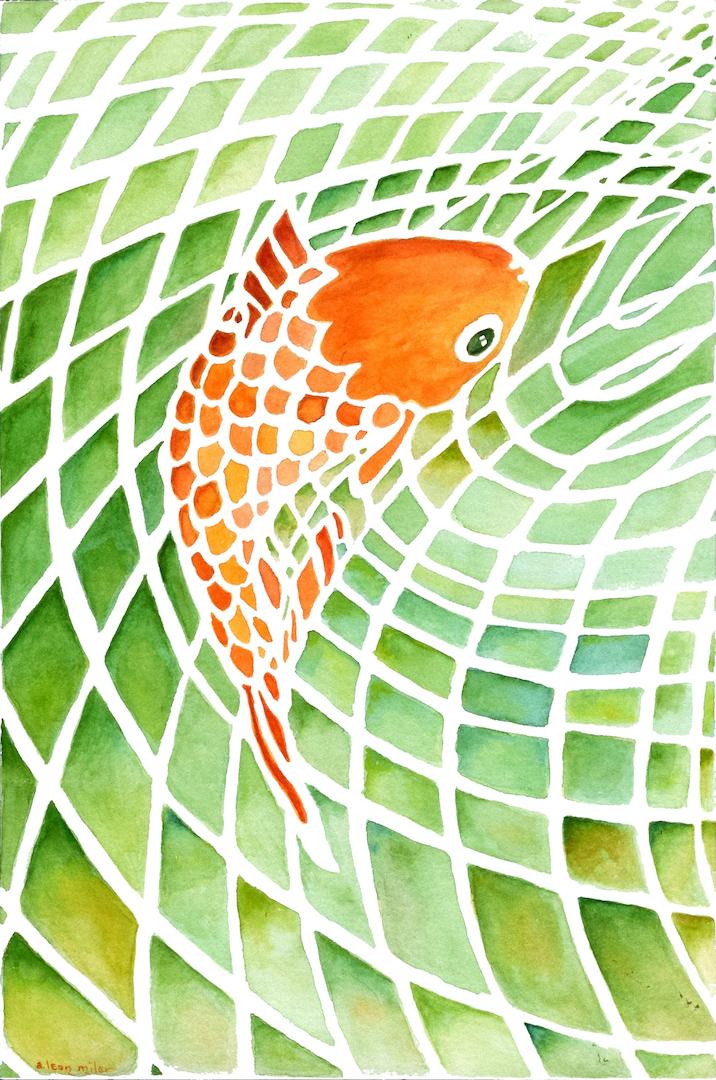A. Leon Miler: Gold Fish