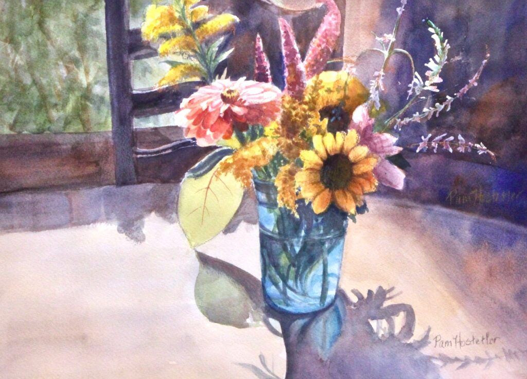 Pam Hostetler: Gorwers Market Bouquet