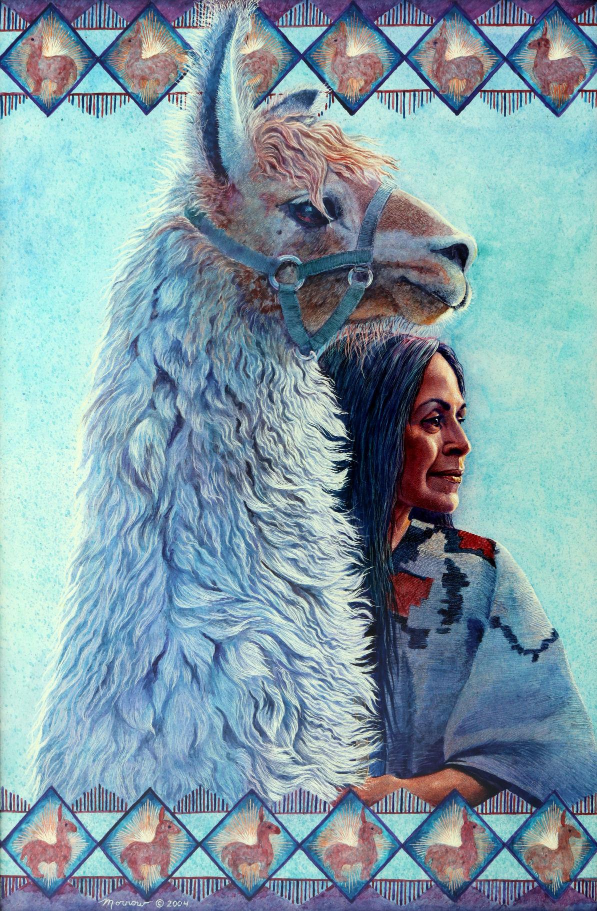 Kathy Morrow: Llama Mama