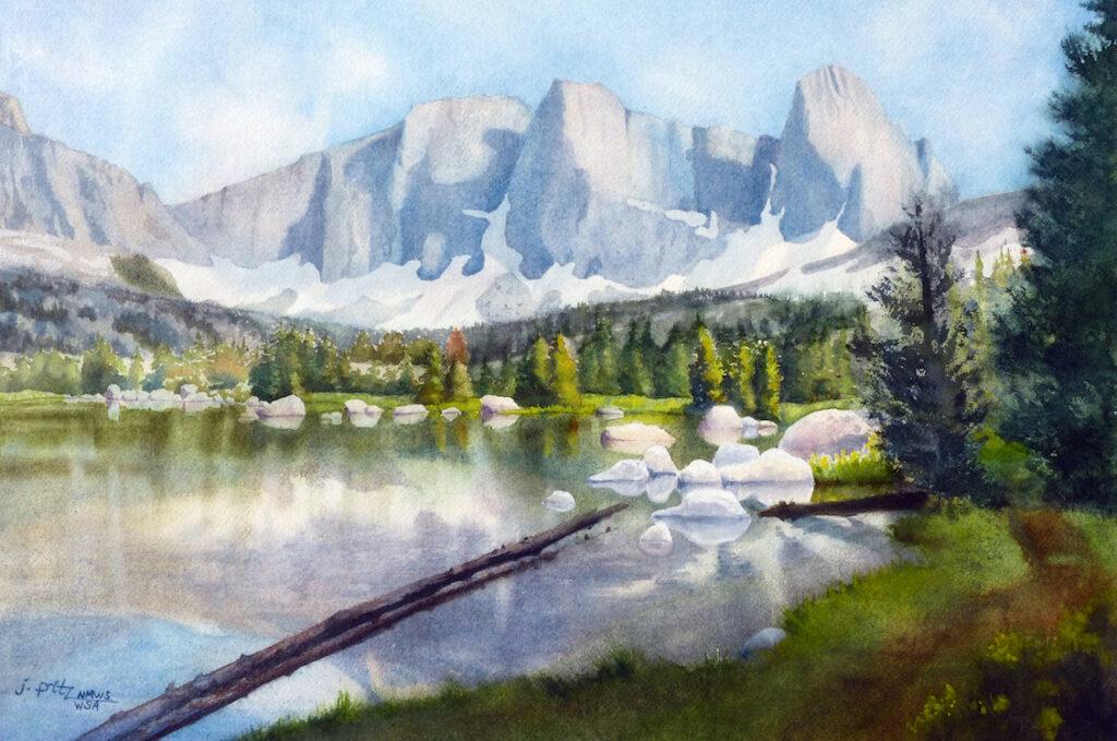 Jane Fritz: Lonesome Lake