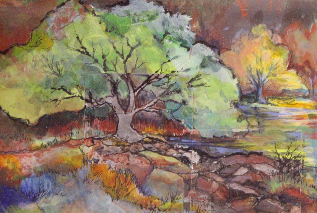 Pam Hostetler: Oak Tree