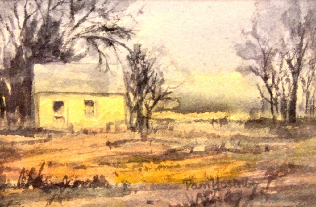 Pam Hostetler: Old Farm House