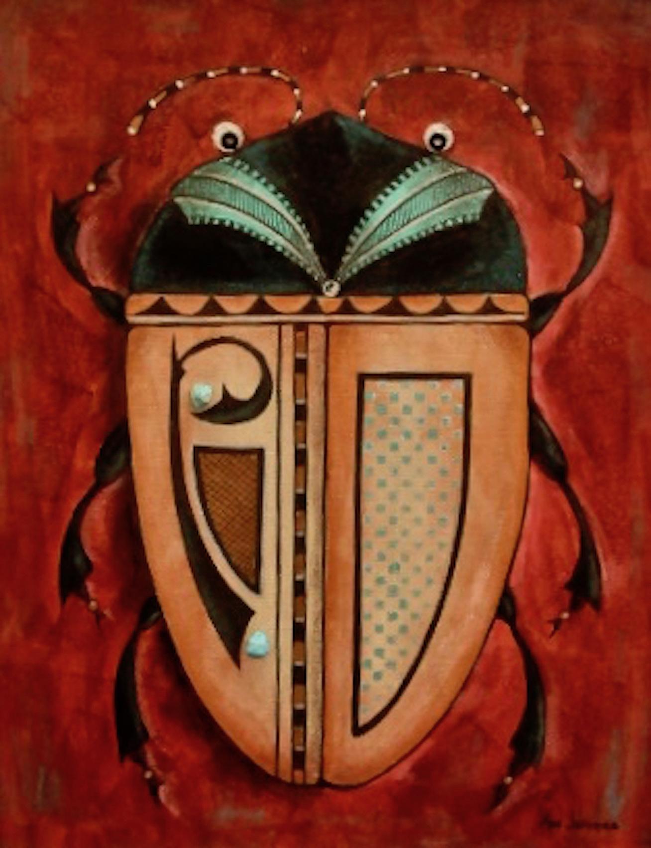 Ann Jeffries: Pueblo Fantasy Beetle