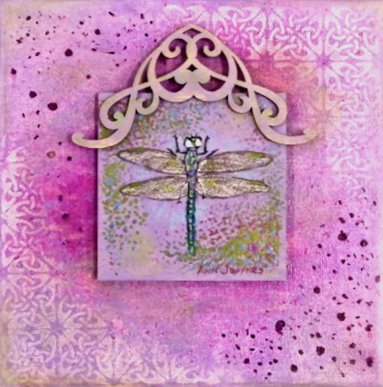 Ann Jeffries: Purple Dragonfly