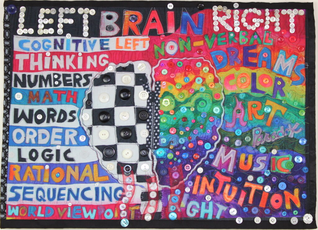 Judith Roderick: Right Brain Left Brain