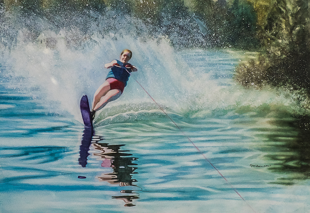 Barbara McGuire: Slalom Siren