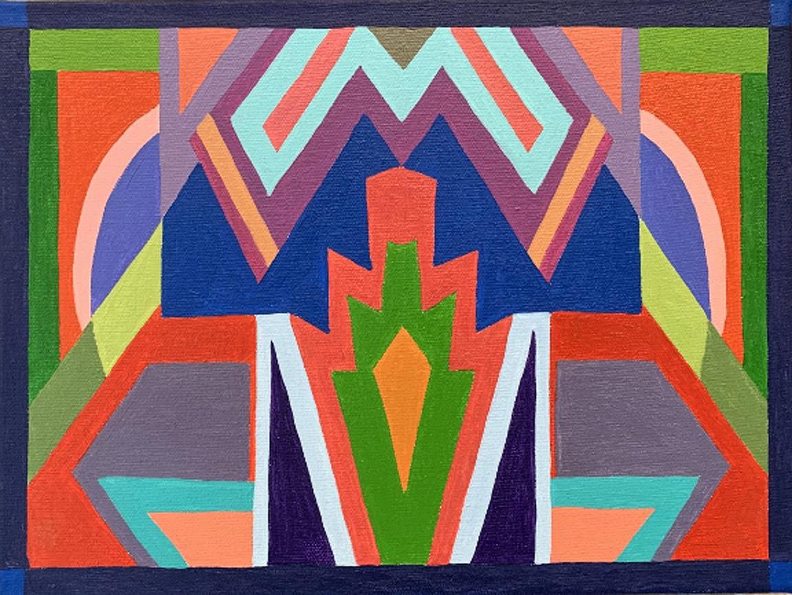 Connie Falk: Southwest Deco