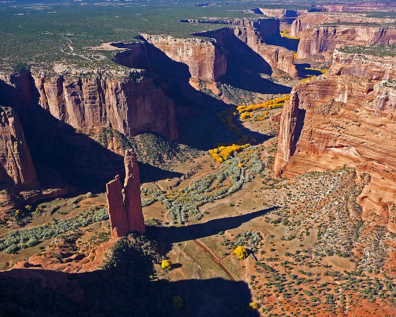 Paul Dressendorfer: Spider Rock, Canyon de Chelly