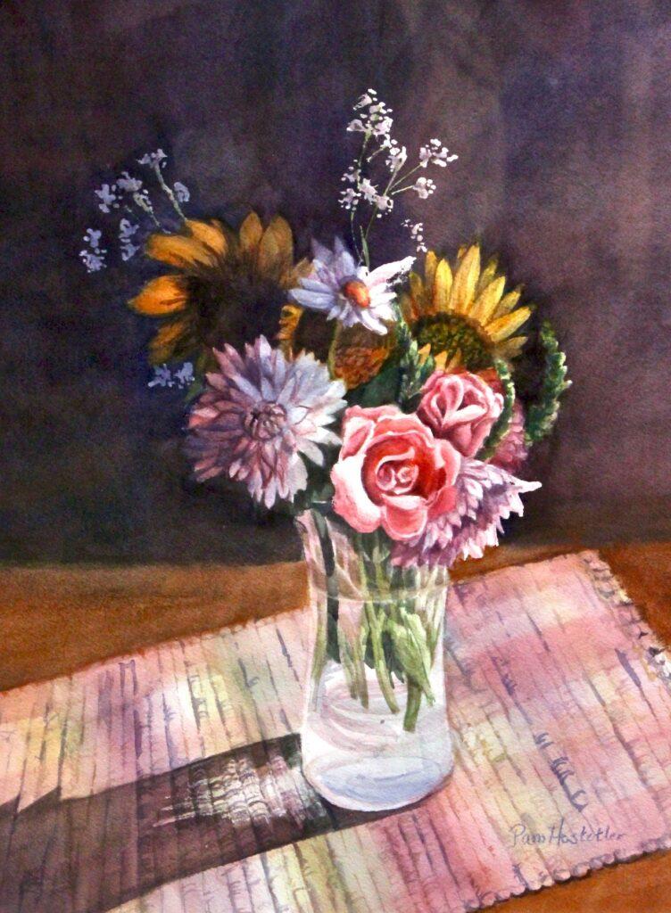 Pam Hostetler: Summer Bouquet
