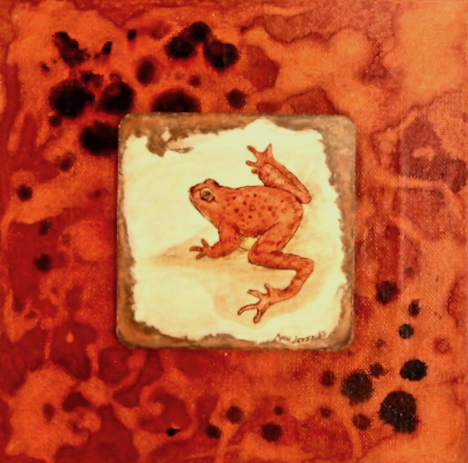 Ann Jeffries: Tree Frog