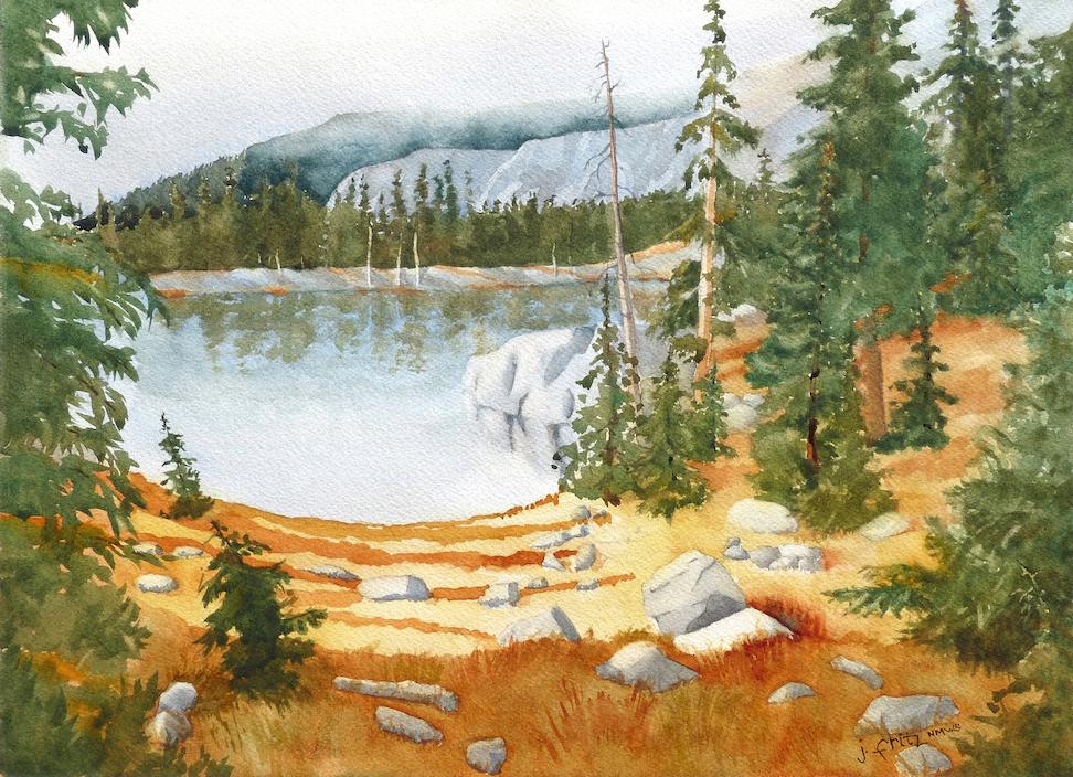 Jane Fritz: Truchas Lake