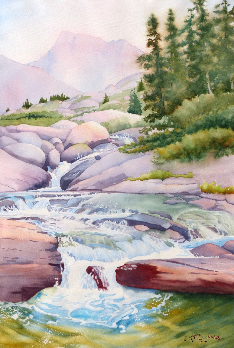 Jane Fritz: Waterfall in the Winds