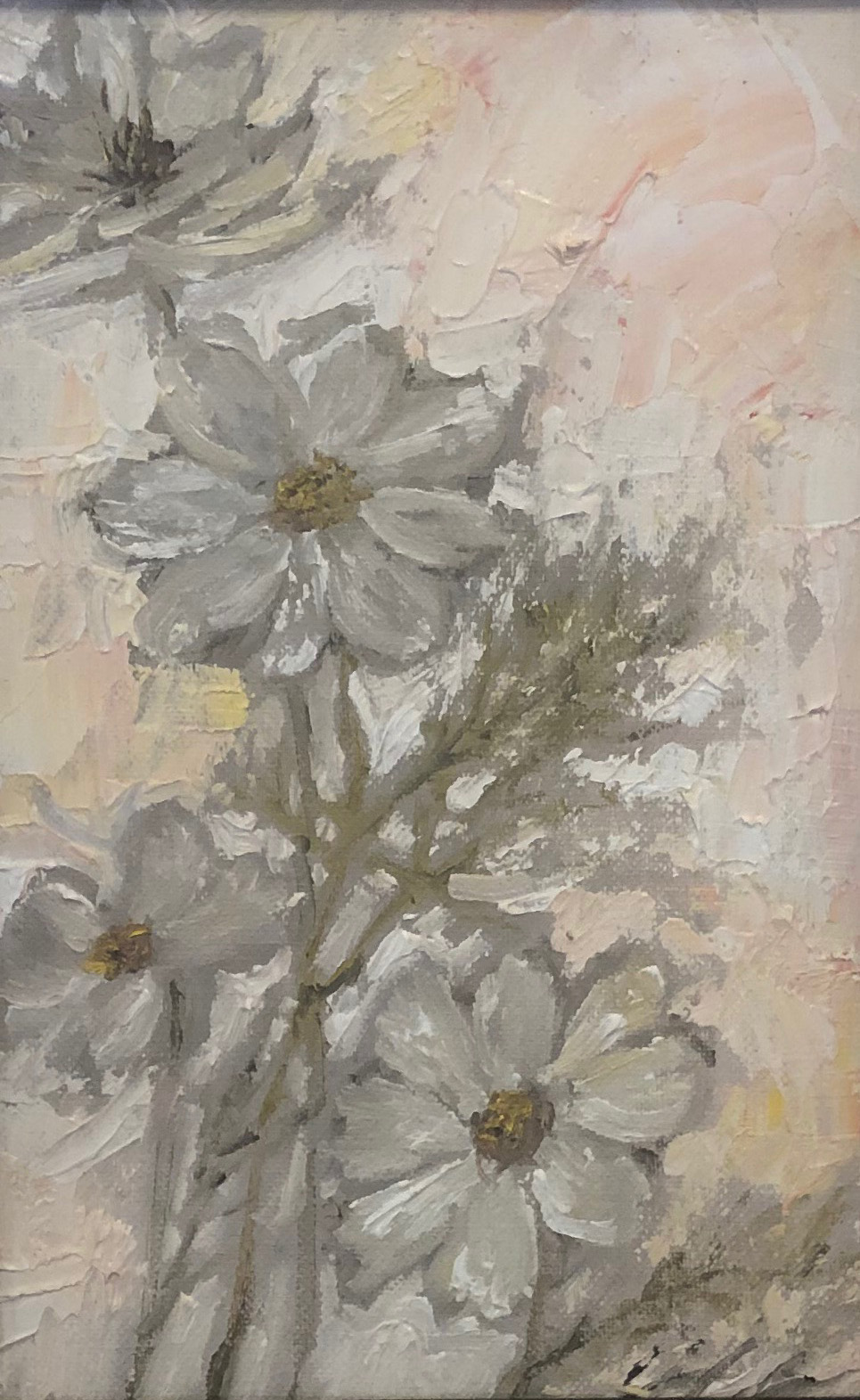 Gloria Blinn: White Blossoms