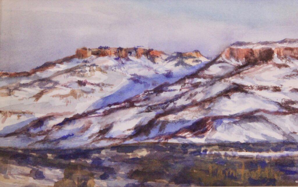 Pam Hostetler: Wintery Morning