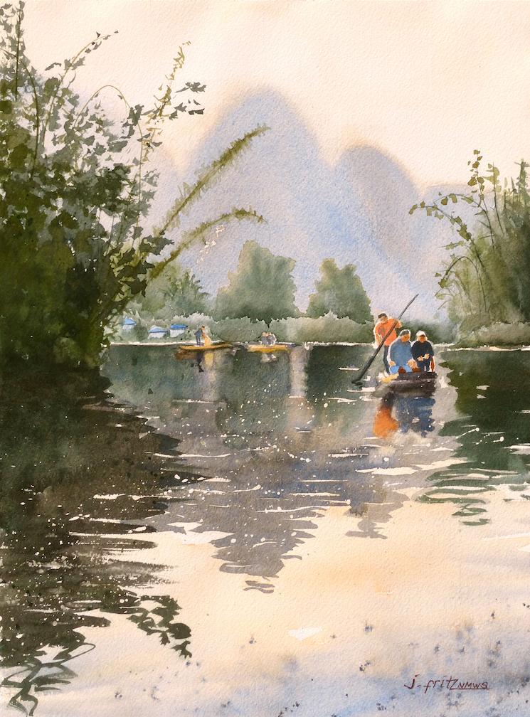 Jane Fritz: Yangshuo