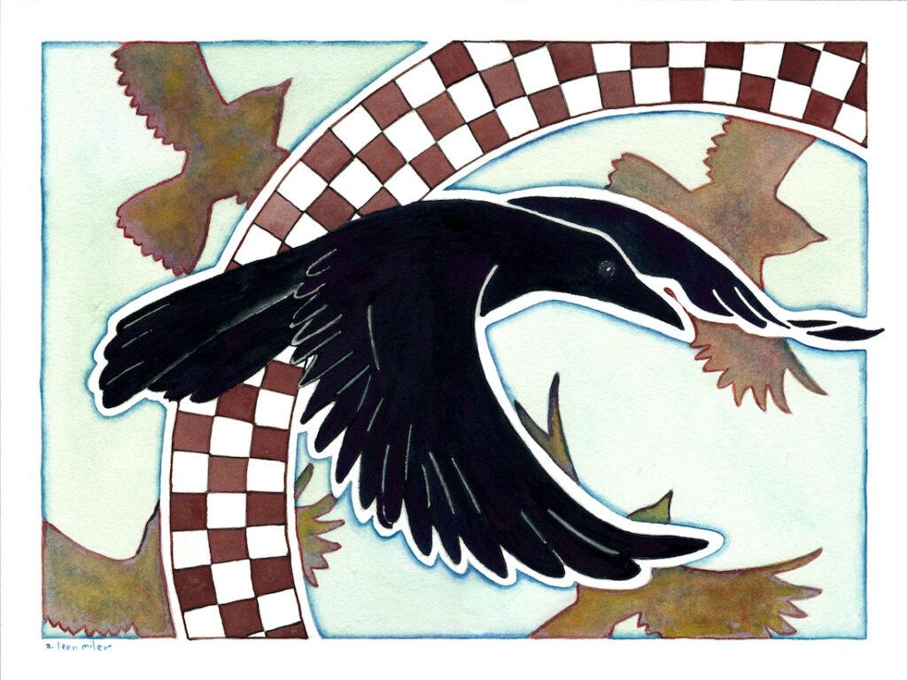 A. Leon Miler: Mimbres Raven