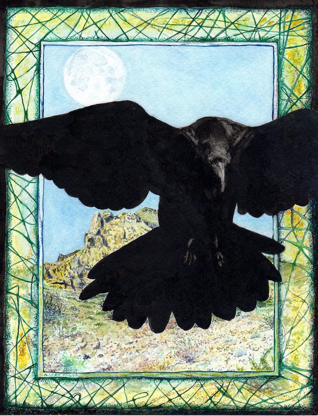 A. Leon Miler: Raven's Blue Moon