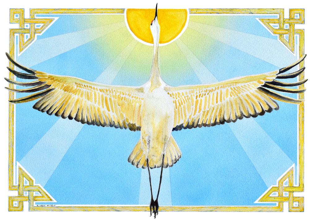 A. Leon Miler: Sunshine Crane