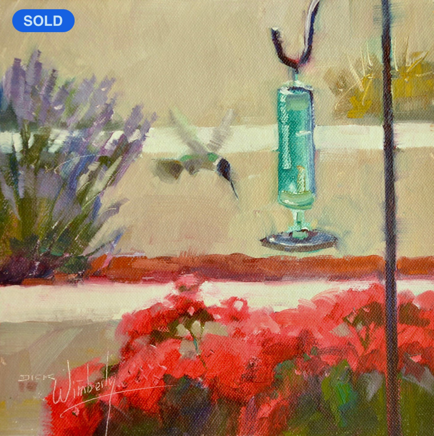 SOLD - Dick Wimberly: Coming In