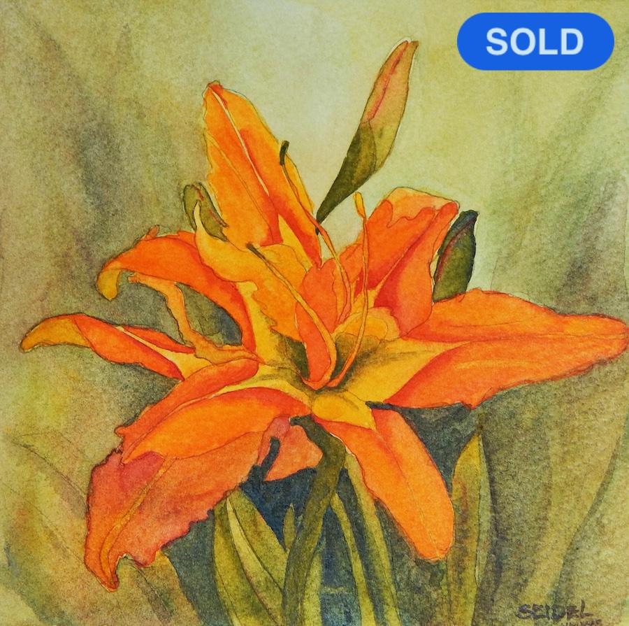 SOLD - Toni Seidel: Daylily