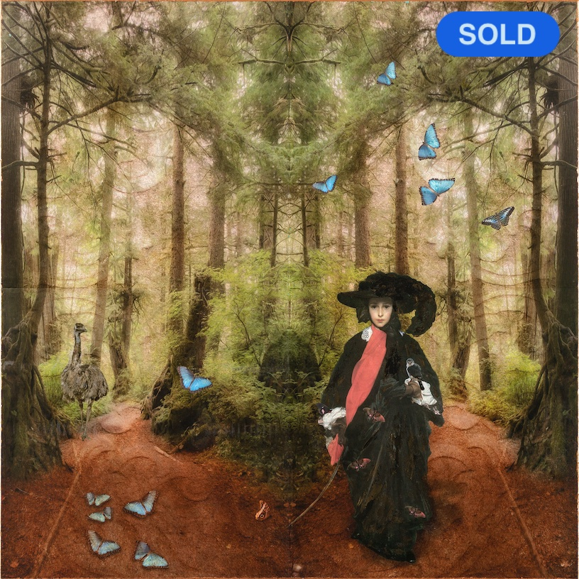 SOLD - Sondra Wampler: May Satoris in Paradise