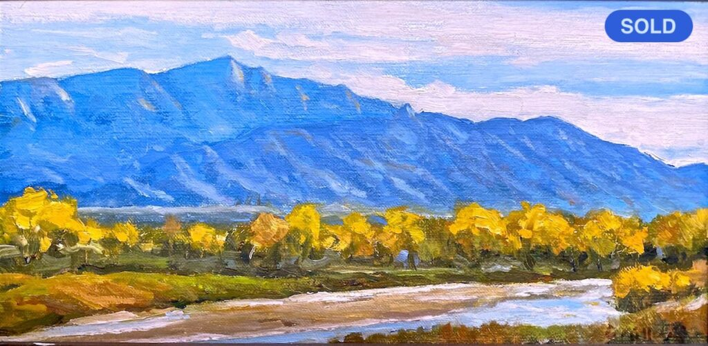 SOLD - Christopher Miller: Rio Grande Fall