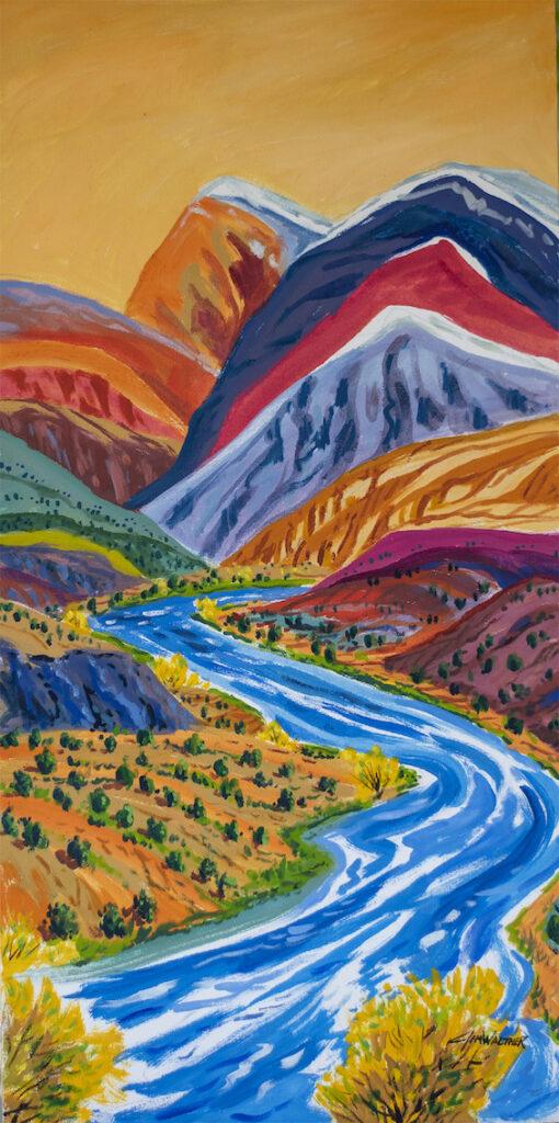 Jim Walther: Autumn Rio Chama