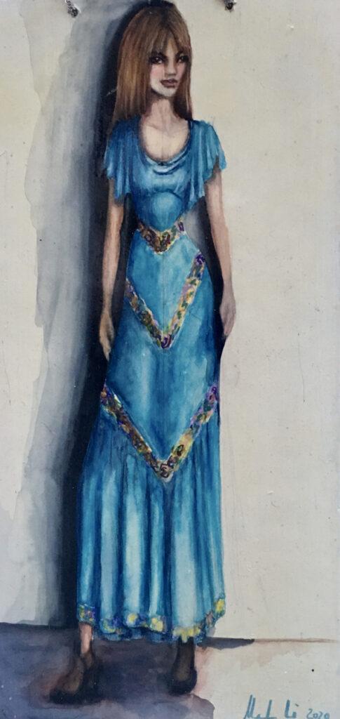 Monah Li: Blue Fashion Fairy