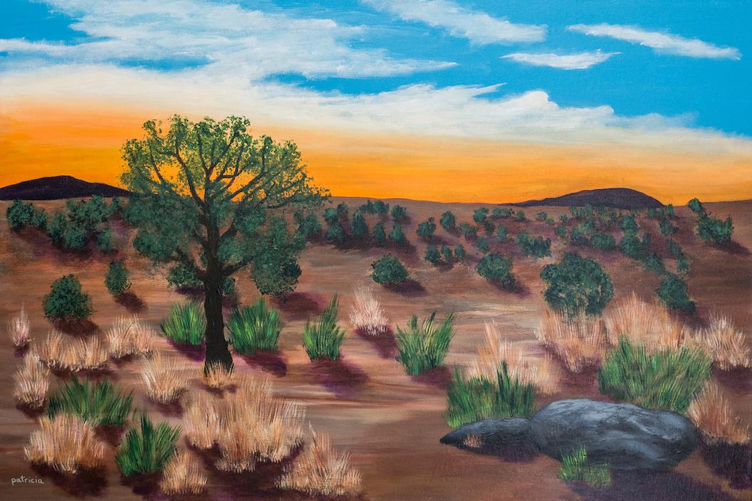 Patricia Gould: Desert Dawn