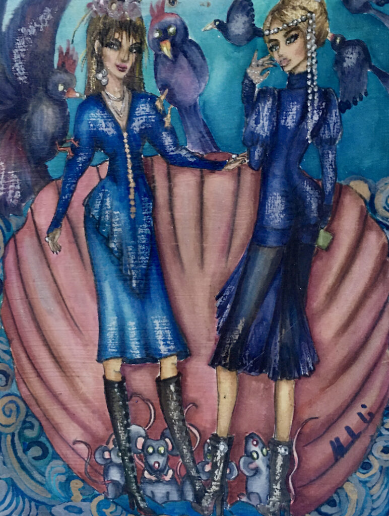 Monah Li: Fairies on the Shell