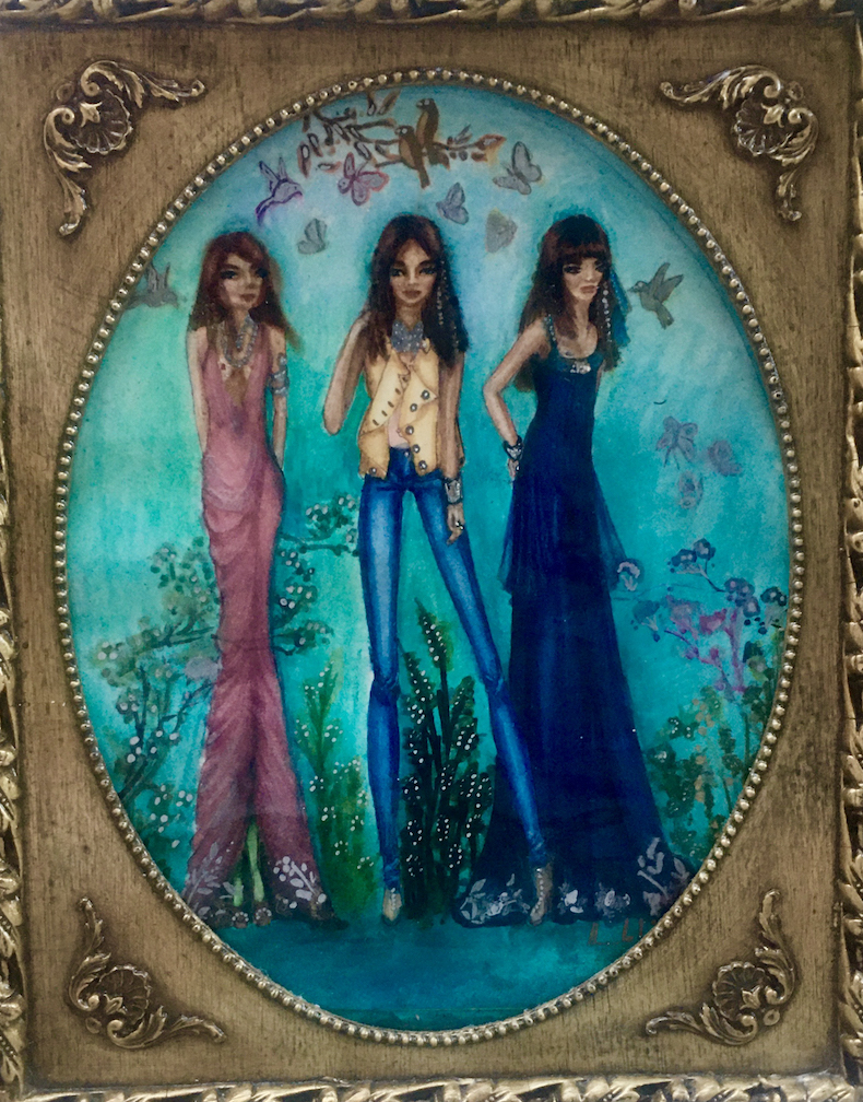Monah Li: Fashion Fairies Out Drinking