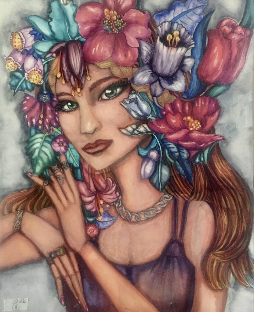 Monah Li: Flower Fairy with Rings