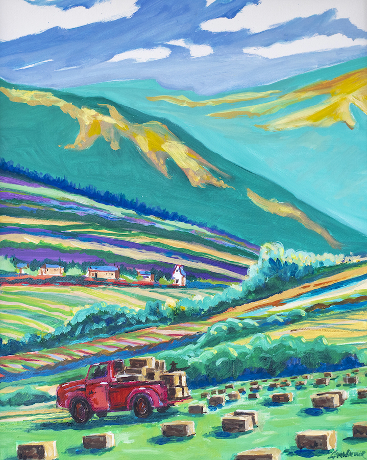 Jim Walther: Haytime in Truchas