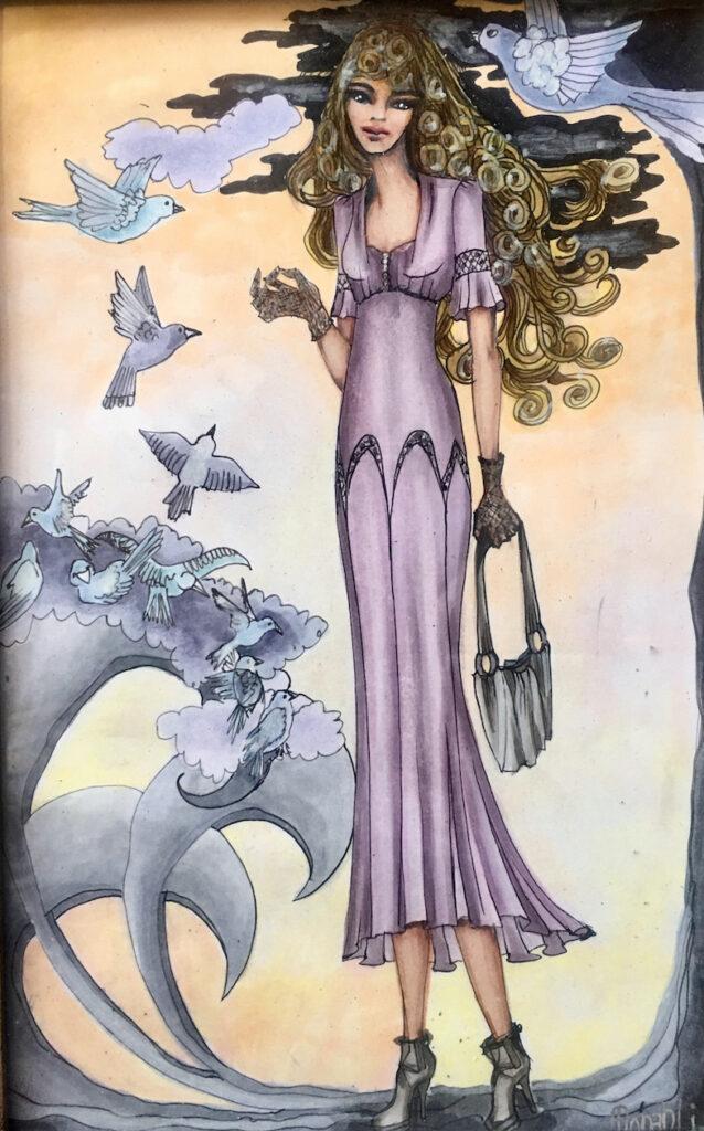 Monah Li: Lace Gloves Fairy