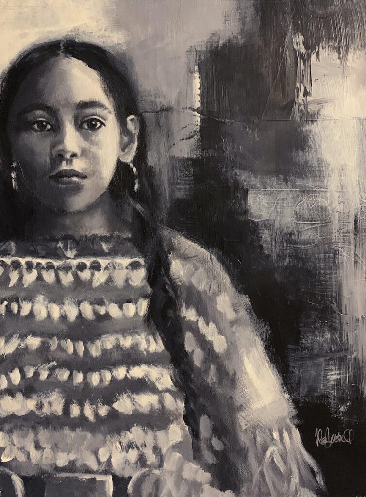 Mary Luttrell: Lakota Girl