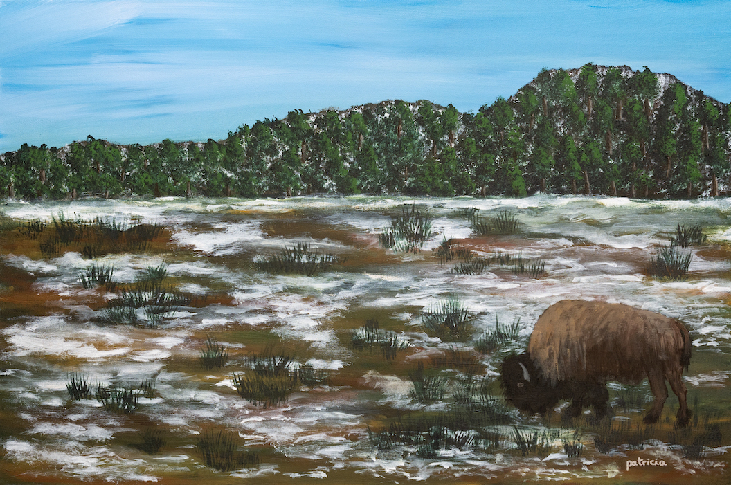 Patricia Gould: Lone Bison
