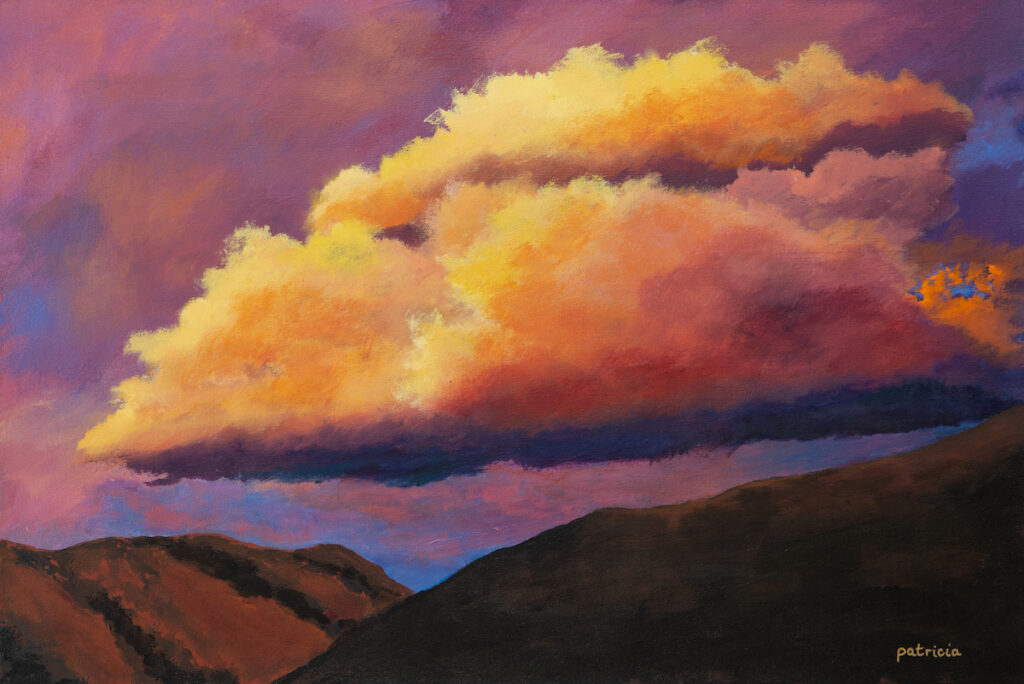 Patricia Gould: Sandia Sunset