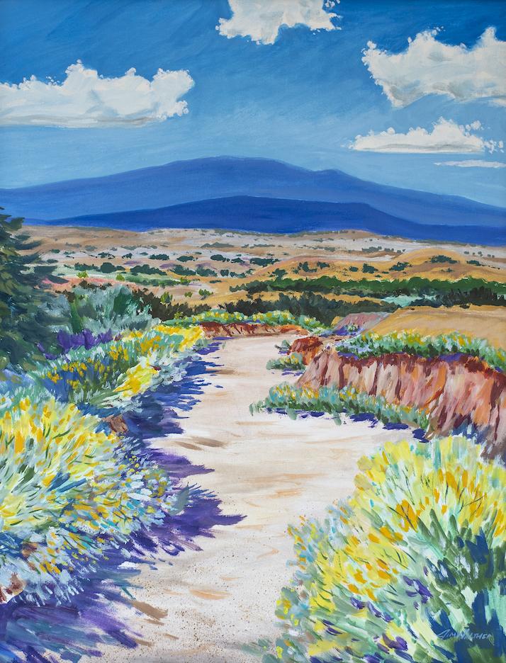 Jim Walther: Santa Fe Arroyo