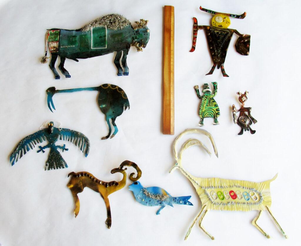 John Bumkens: Set of Animals