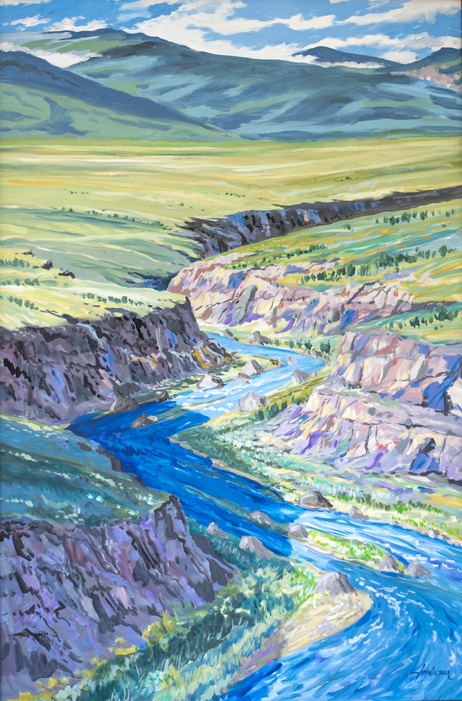 Jim Walther: Summer Gorge