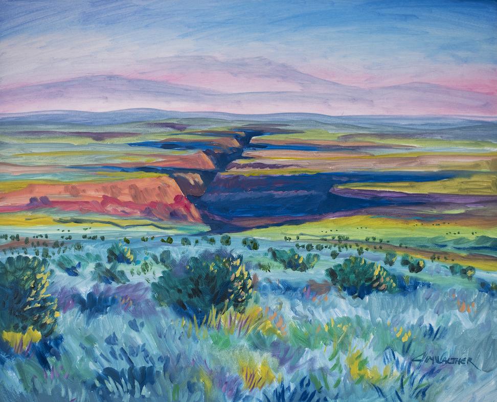 Jim Walther: Taos Gorge 2020