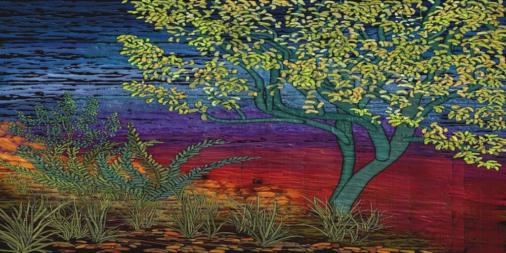 David Henderson: Watercolor Tree