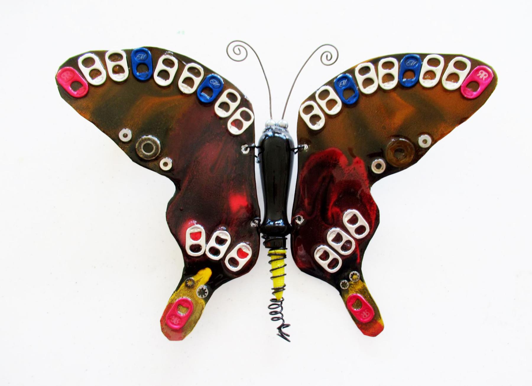 John Bumkens: Pull Top  Butterfly
