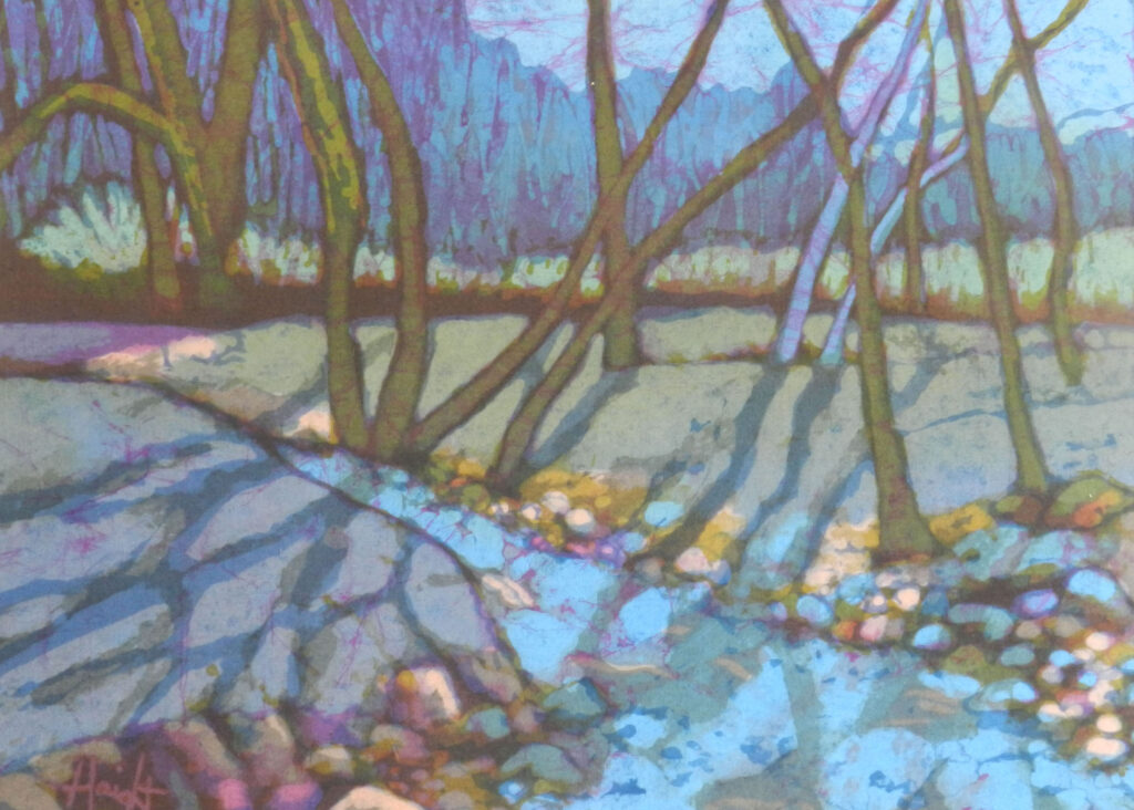 Cathy Haight: Apache Creek in the Spring