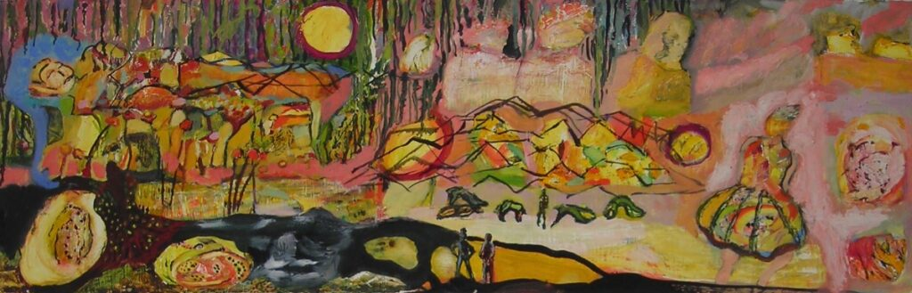 Estelle L. Roberge: Bear Mountain Walk