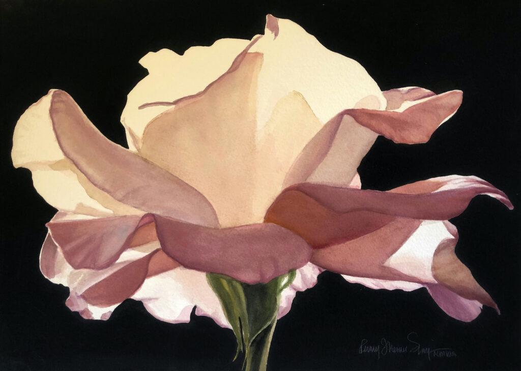 Penny Thomas Simpson: Blushing Rose