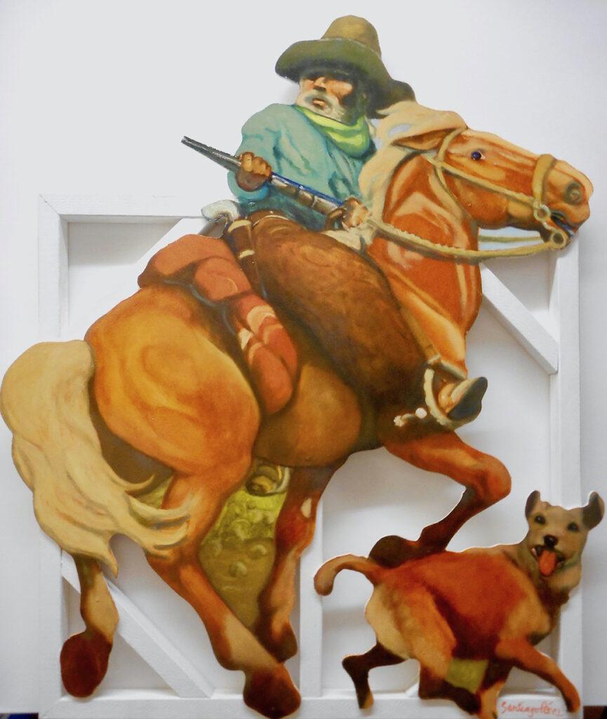 Santiago Perez: Captain Call, Texas Ranger