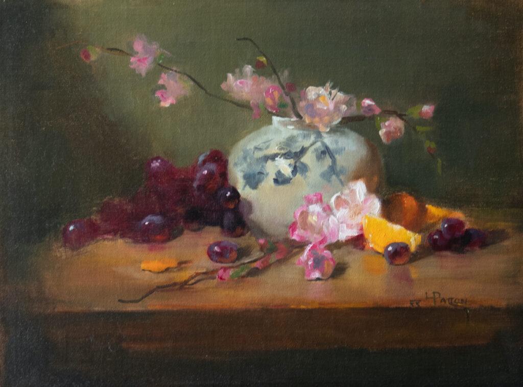 Lynne Patton: Cherry Blossoms and Orange